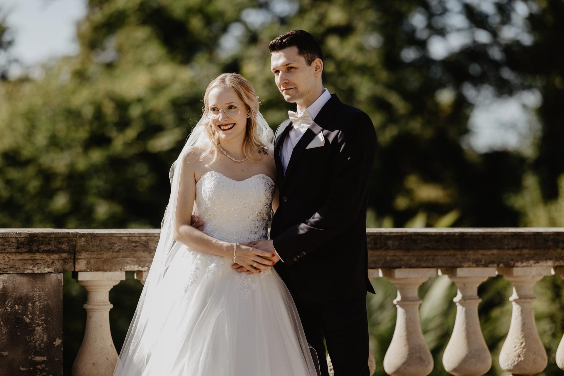 Hochzeitsfotos im Orangerieschloss in Potsdam