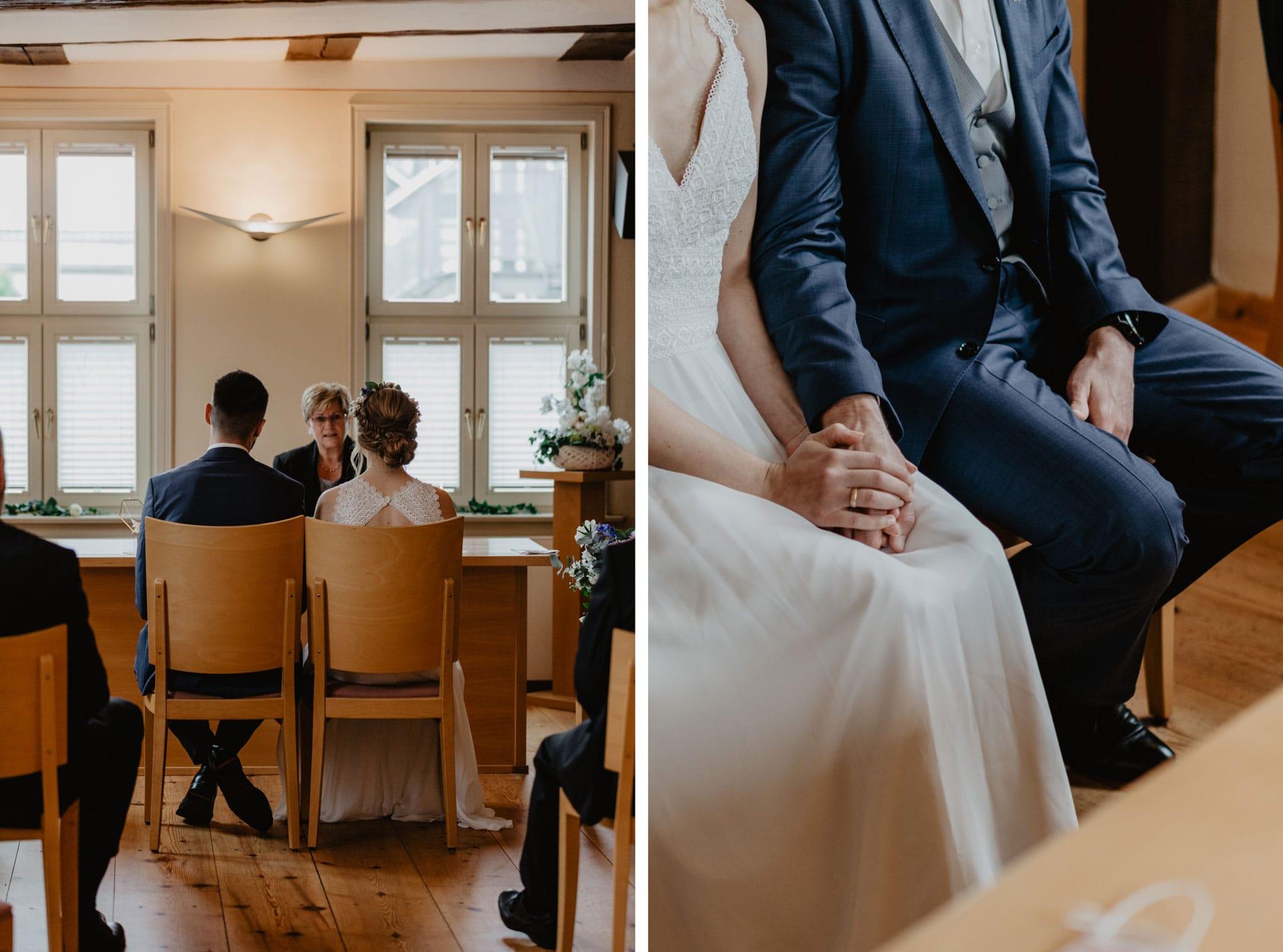 Trauung im Standesamt Biesenthal bei Berlin Hochzeitsfotos