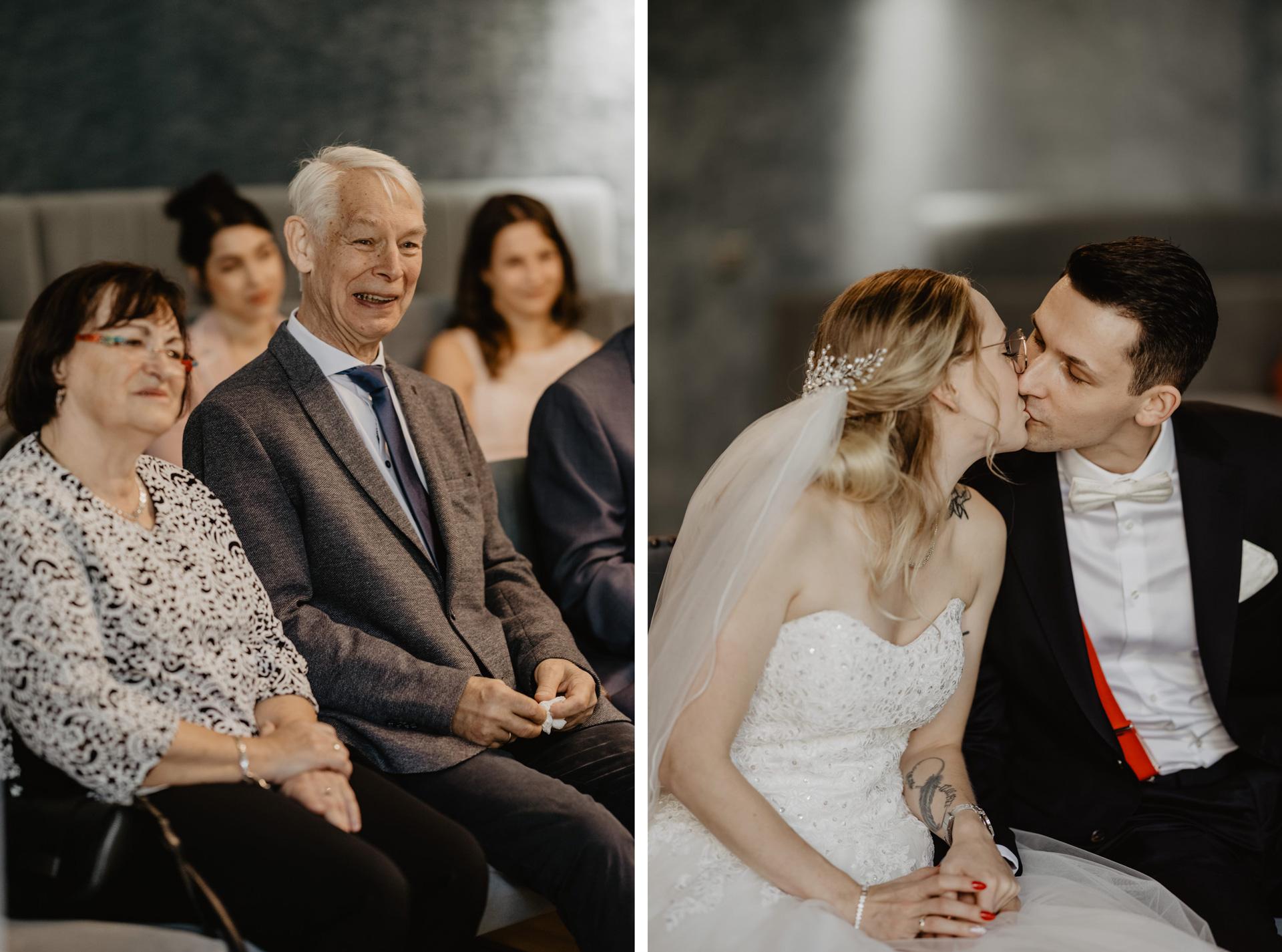 Brautpaar Hochzeitsfotos Museumsinsel Berlin