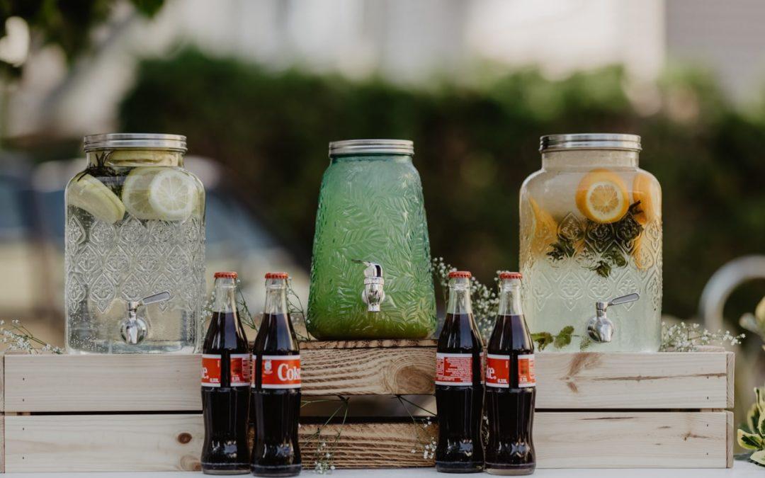 DIY Deko-Ideen für eine Gartenhochzeit