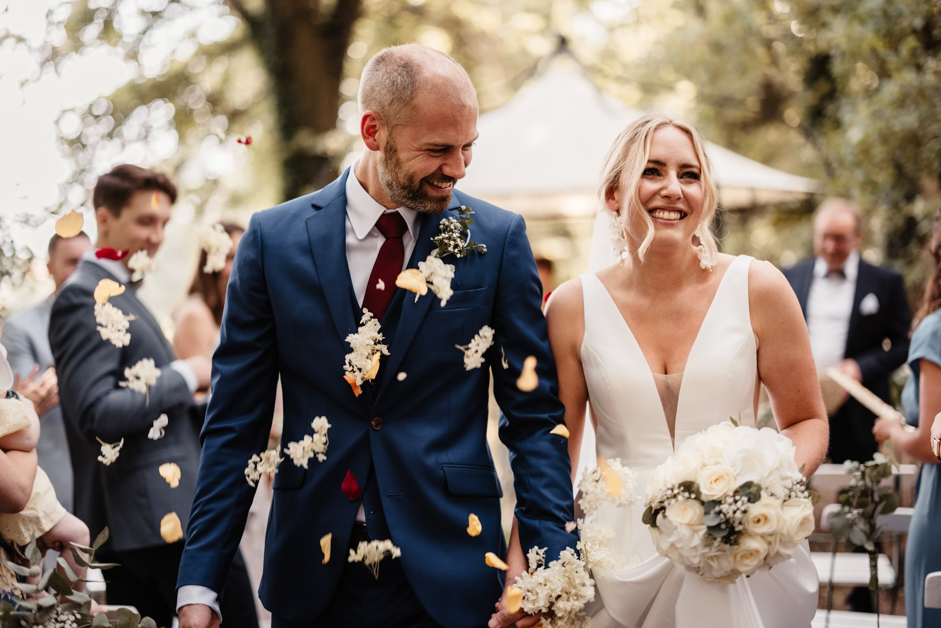 Brautpaar Hochzeitsfotos von Hochzeitsfotograf Potsdam